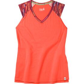 Smartwool Merino 150 Sleeveless Shirt Women red